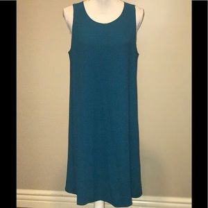 ❤️EILEEN FISHER SLEEVELESS SILK SHIFT DRESS NWOT!